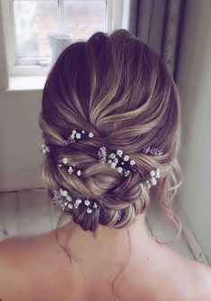 Elegant Prom Updo wedding hairstyles for medium length hair, # for . Elegant Prom Updo wedding hairstyles for medium length hair, # for . Elegant Prom Updo classic updo for . Chignon Wedding, Elegant Wedding Hair, Elegant Updo, Bridal Updo, Bridal Braids, Prom Hair Updo Elegant, Classy Updo, Updos For Wedding, Updo Casual