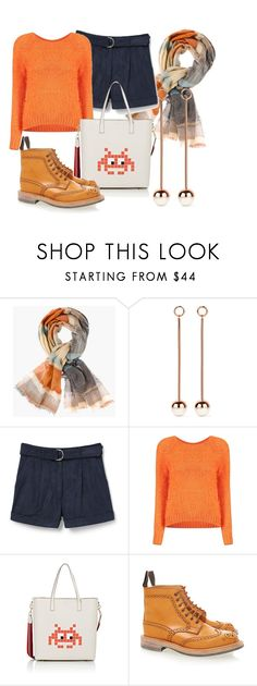 """""""Untitled #52"""" by linailina ❤ liked on Polyvore featuring Chico's, Ryan Storer, MANGO, Anya Hindmarch and Tricker's"""