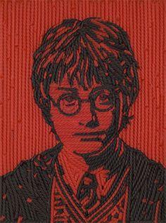 Jason Mecier - Artiste Pop - Portrait de Harry Potter