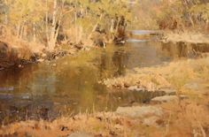 Tennessee Creek • 24x36, oil on canvas