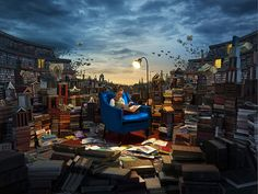 Swedish photographer and retoucher Erik Johansson is well known for his mind-bending photo-manipulations and optical illusions, which are all made with car