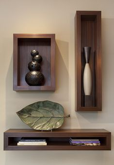 Point Tiburon - contemporary - hall - san francisco - Ruth Livingston Studio - great shadow boxes