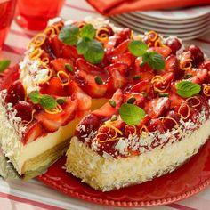 Egy finom Epres-fehércsokis szívtorta ebédre vagy vacsorára? Epres-fehércsokis szívtorta Receptek a Mindmegette.hu Recept gyűjteményében!