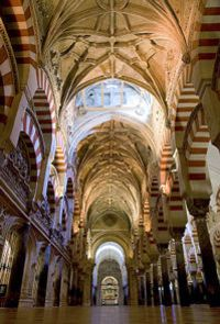Cordoba, Spain la mesquita (cathedral turned into mosque and back to cathedral)