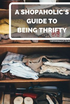 A Shopaholic's Guide to Being Thrifty: Part 1 | Wanna save money on clothes without giving up shopping completely? Here's some tips to help shop while spending less