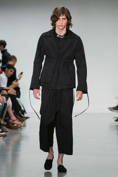A look from the Craig Green Spring 2016 Menswear collection.