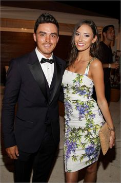 """Rickie Fowler and Alexis Randock. Ivanka Trump hosted a """"fashion experience"""" featuring luxury brand Dolce & Gabbana."""