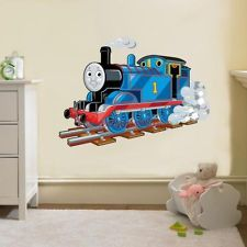 wallpainting on pinterest thomas the tank engine and wall murals. Black Bedroom Furniture Sets. Home Design Ideas