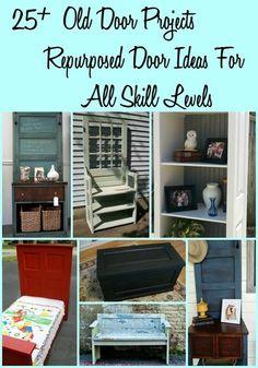 Old Door : Project Ideas for Repurposed Doors