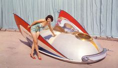 The George Barris built XPAK 400 air car which actually flew!