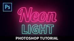 ads ads – Neon Light Text Effect[Photoshop tutorials] Photoshop Tutorials Youtube, Photoshop Fonts, Effects Photoshop, Text Effects, Light Effect Photoshop, Neon Photography, Photoshop Photography, Photography Website, Advanced Photography