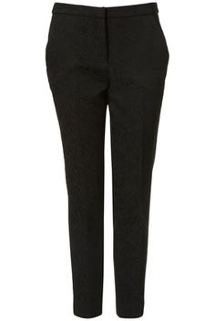 Topshop Butterfly Jacquard Trousers