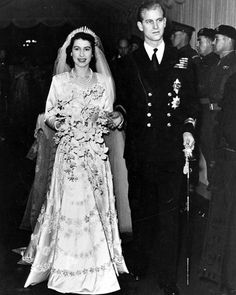 Happy 69th wedding anniversary to Queen Elizabeth and Prince Philip, who wed on this day in 1947. Read why it almost didn't happen via the link in our bio. : @GettyImages