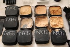 Nars..I love seeing how other makeup artist set up or what brands they carry in their kit