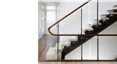 John Maniscalco Architecture - Pacific Avenue House - Architectural stair detail