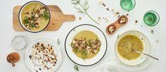 Hapankaali-perunakeitto - Hapankaali antaa ihanaa makua tähän pehmeään kasvissosekeittoon. (K-Ruoka)