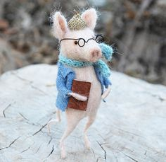 #feltingdreams #animals #dolls #muñecos #regalos #aperfectlittlelife ☁ ☁ A Perfect Little Life ☁ ☁ www.aperfectlittlelife.com ☁