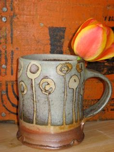 Sarah Dudgeon's favorite mug - (I have one too, only in a little darker teal & love it!)