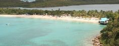 Antigua beaches: Deep Bay; Only 10 min from St. John's, great for snorkeling, has a shipwreck; calm, protected waters