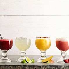The most iconic tequila cocktail offers endless flavor variations from mango to strawberry-banana to blackberry.