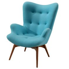Featherston Chair-Blue