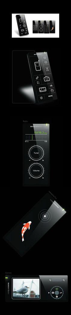 BenQ - Siemens Phone & GUI concept from 2008  Sometimes good design does not make it first time round...... |  Manchmal schafft es gutes Design nicht im ersten Anlauf #UI #Useability