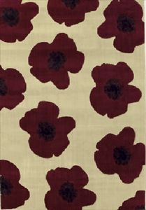 Red Poppy - Shaw Living - Rugs - Beige