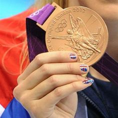 Nail Art Gets an Olympic Gold