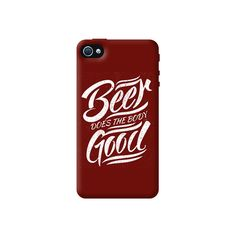 Beer Does Good Apple iPhone 4/4S Case from Cyankart