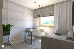 (Dom w okolicy Lublińca) Dom jednorodzinny 7 - Gabinet, styl nowoczesny - zdjęcie od BAGUA Pracownia Architektury Wnętrz