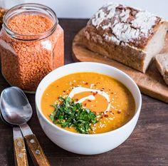 Ekspresowa zupa dhal, czyli indyjska zupa z czerwonej soczewicy – Moja kuchnia, mój plac zabaw Dhal, Garam Masala, Cooking, Ethnic Recipes, Food, Kitchen, Essen, Meals, Yemek