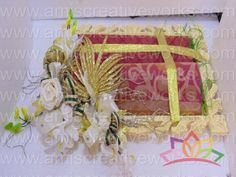 #saree tray #trousseaux packing #indian wedding #amis #amiscreativeworks