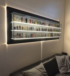 Custom display holds the complete first run of Star Wars toys, your envy - Geek