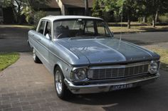 Ford Faclon 1965 XP, this one was converted to V8