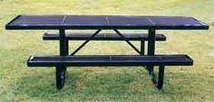 At a park or other public venue you're going to want to look at outdoor picnic tables that can stand up to the use, and potential misuse, it will likely see at these venues.