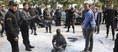 Un jeune vendeur simmole par le feu à Tunis