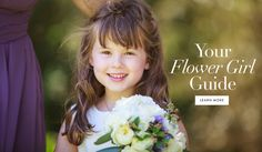 Flower Girl Etiquette | Photography: Mischa Photography. Read More:  http://www.insideweddings.com/news/planning-design/what-you-need-to-know-if-you-have-a-flower-girl/3013/