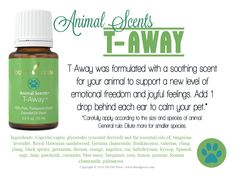 Love it, Share it care for Young Living's Animal Scents T-Away essential oil…
