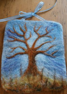 Winter Tree Wall Hanging - no longer available but still beautiful.