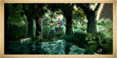 https://flic.kr/p/xTfkyX   enchanted glade   Created with Bryce, postwork done…