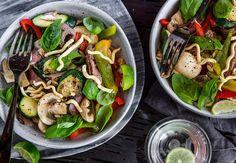 Beef Noodle Salad Recipe - Viva