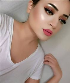 Fresh Wedding Makeup, Fresh Makeup Look, Indian Wedding Makeup, Makeup Eye Looks, Indian Makeup, Natural Wedding Makeup, Bridal Makeup, Makeup Stuff, Nude Makeup