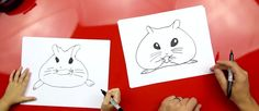 How To Draw A Hamster - Art for Kids Hub