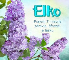 Elko - prianie k meninám