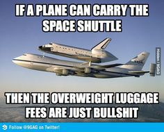 Overweight luggage fees are just bulls**t!