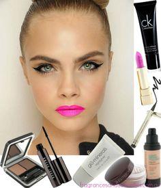 How to do Cara Delevingne's fun 'n' flirty makeup #makeup #beauty #makeuphowto