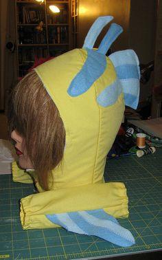 Last minute Flounder costume   Flickr - Photo Sharing!