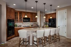 The Landing at Trailside Point, a KB Home Community in Laveen, Arizona (Phoenix) Kitchen Dining, Kitchen Decor, Dining Rooms, Arizona, Kb Homes, Phoenix Homes, Kitchen Models, Media Cabinet, Kitchen Equipment
