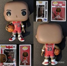 Vinyl NBA Bulls ** IN STOCK ** Michael Jordan Pop