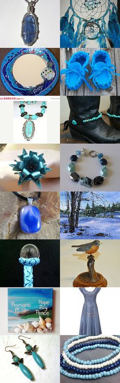 Friday is blue day by Linda and Billy on Etsy--Pinned with TreasuryPin.com